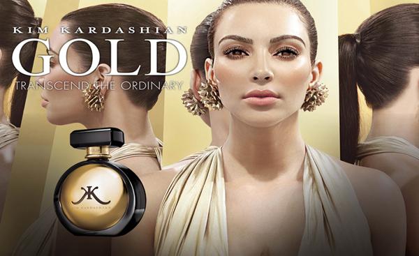 Gold de Kim Kardashian